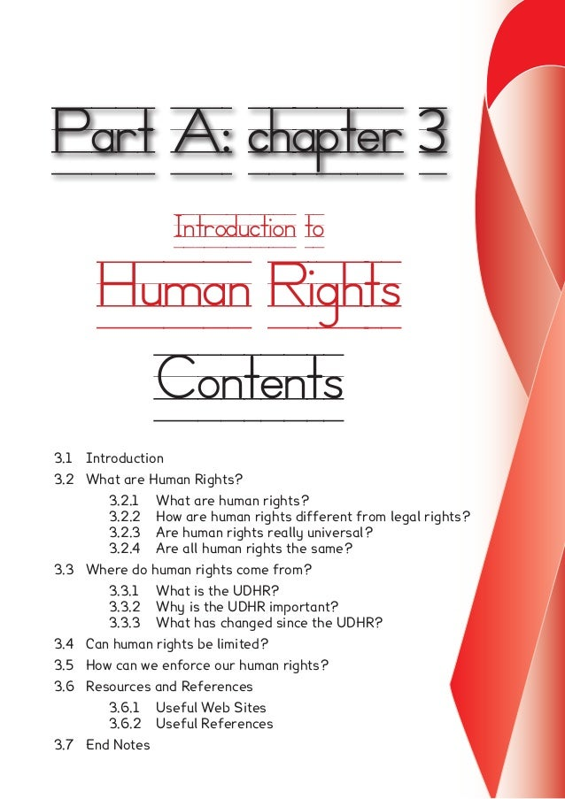 human rights case study south africa