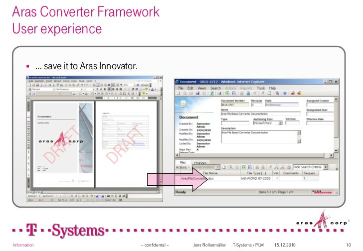 Aras Converter Framework Overview