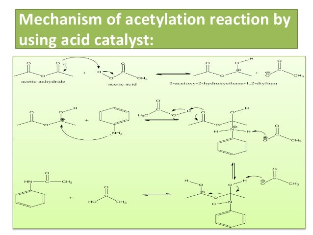 preparation of acetanilide Acetanilide finds use as a starting material in the synthesis of another compound known as para red, which is a very bright red-colored chemical dye used by the textile industry para red is.