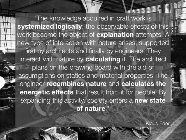 """""""Mastery of nature is achieved through clever calculation, what the authors will call 'instrumental rationality,' an exten..."""