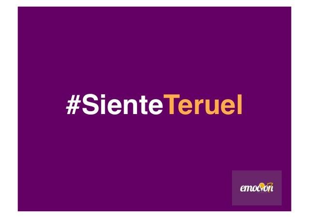 #SienteTeruel!