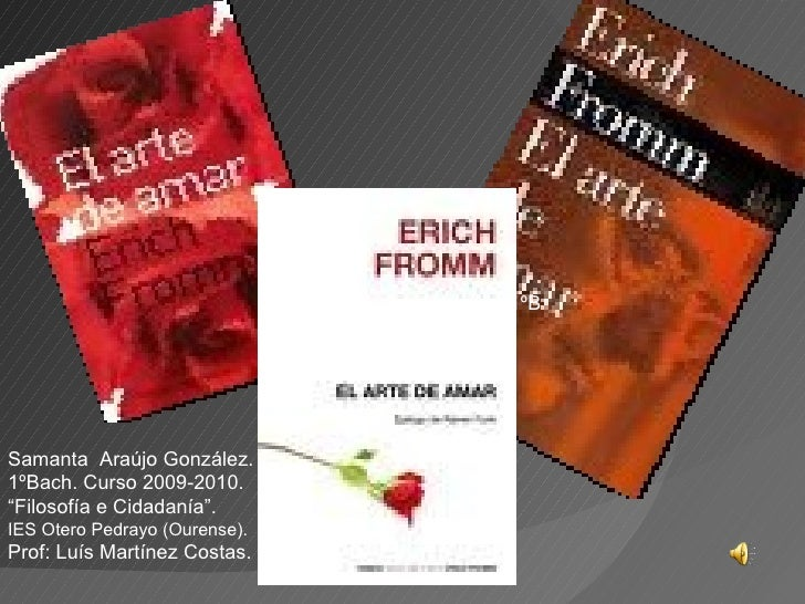 erich fromm el arte de amar pdf descargar