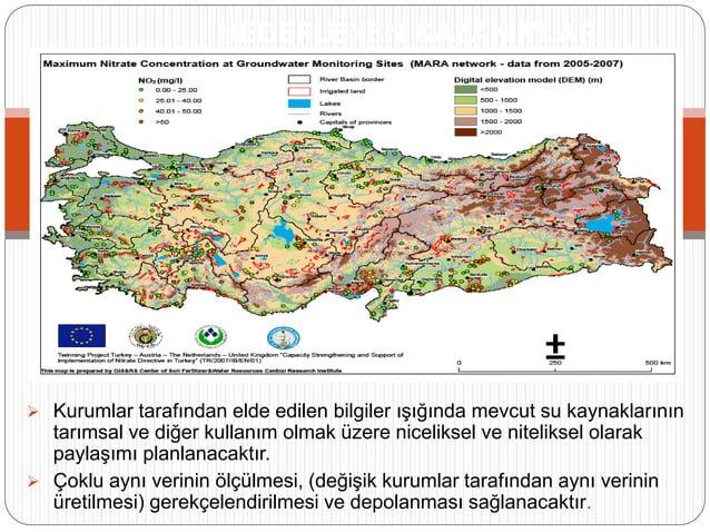 HEDEFLENEN KAZANIMLAR  Kurumlar tarafından elde edilen bilgiler ışığında mevcut su kaynaklarının tarımsal ve diğer kullan...