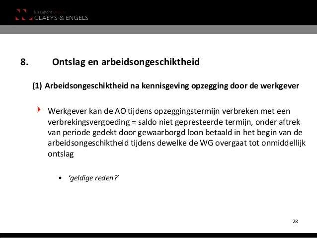 ontslagbrief zonder opzegtermijn voorbeeld Nieuwe ontslagregels vanaf 1 januari 2014 voor arbeiders en bedienden ontslagbrief zonder opzegtermijn voorbeeld