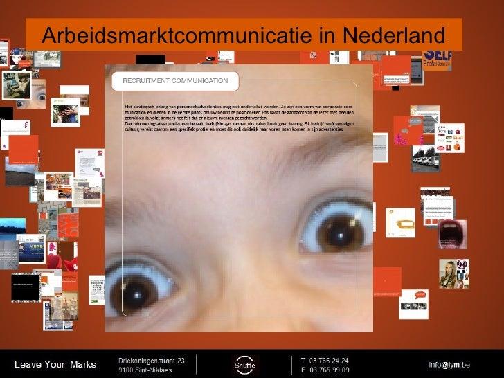 Arbeidsmarktcommunicatie in Nederland