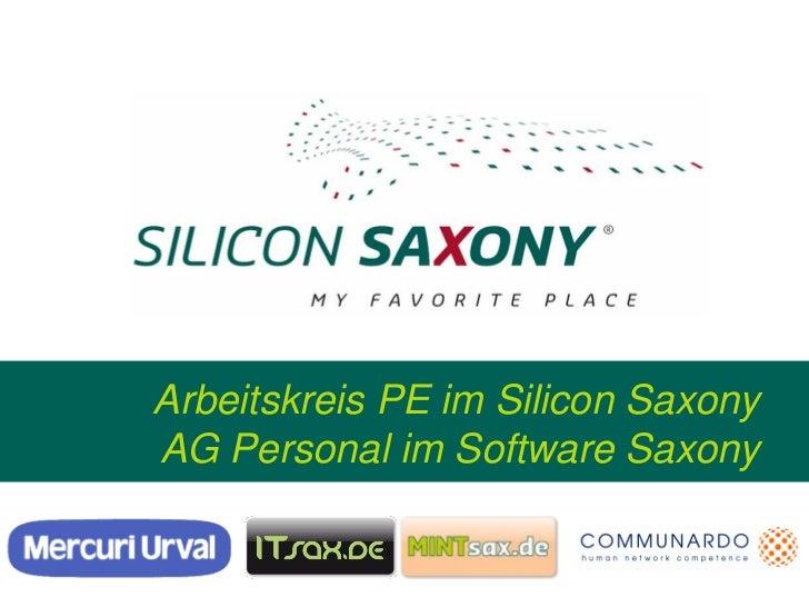Arbeitskreis PE im Silicon SaxonyAG Personal im Software Saxony