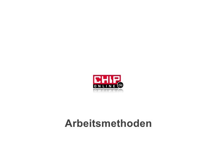 Arbeitsmethoden