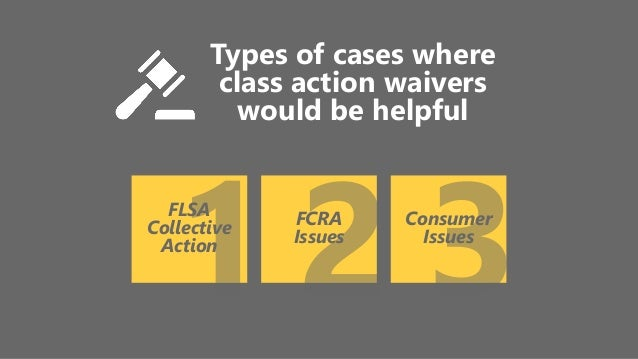 Arbitration Agreements Class Action Waivers