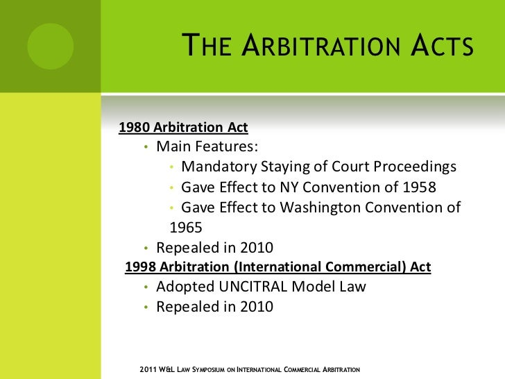 unicitral model law on commercial arbitration Continue reading 74 jurisdictions have adopted the uncitral model  the uncitral model law on international commercial  international arbitration law.