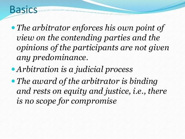 Arbitration Amp Its Types