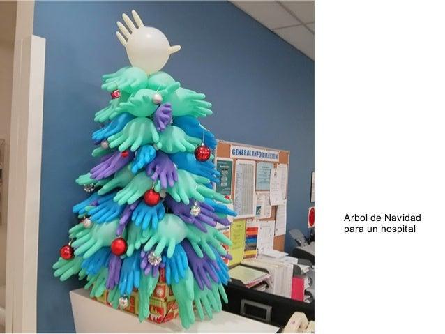 Árbol de Navidad  para un hospital