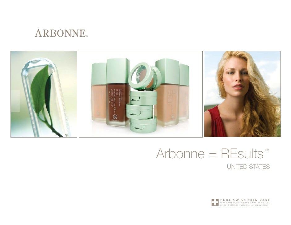 Arbonne = REsults™            UNITED STATES