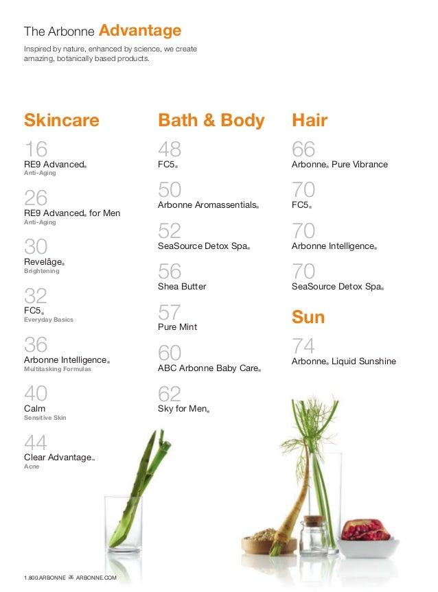 Skincare 16 RE9 Advanced® Anti-Aging 26 RE9 Advanced® for Men Anti-Aging 30 Revelâge® Brightening 32 FC5® Everyday Basics ...