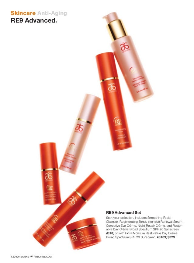 Skincare Anti-Aging RE9 Advanced® RE9 Advanced Set Start your collection. Includes Smoothing Facial Cleanser, Regenerating...