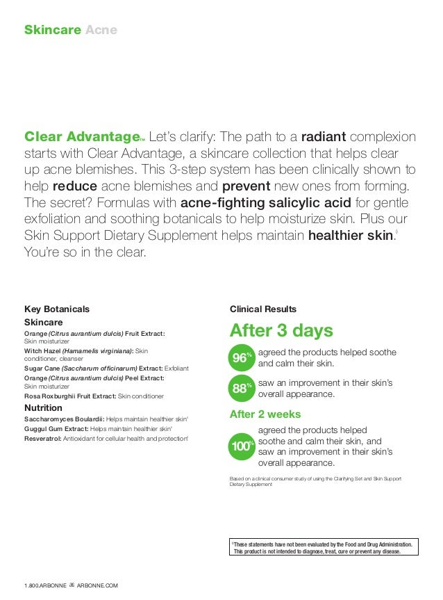 Skincare Acne Clear Advantage™ Let's clarify: The path to a radiant complexion starts with Clear Advantage, a skincare col...