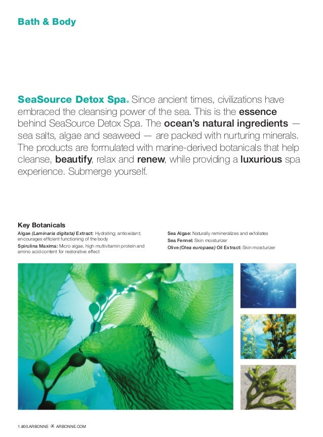 Bath  Body SeaSource Detox Spa® Since ancient times, civilizations have embraced the cleansing power of the sea. This is t...