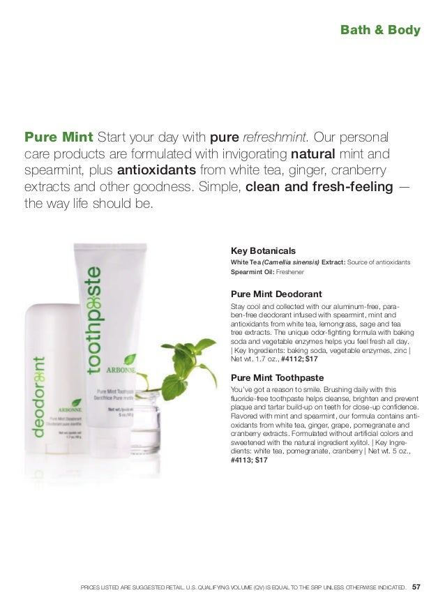 Pure Mint Start your day with pure refreshmint. Our personal care products are formulated with invigorating natural mint a...