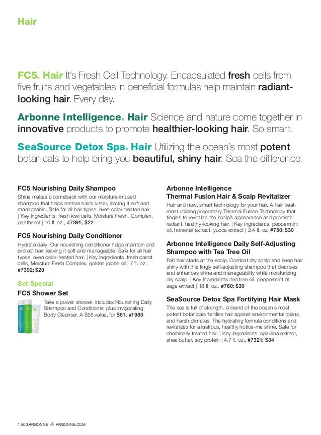 Hair FC5® Hair It's Fresh Cell Technology. Encapsulated fresh cells from five fruits and vegetables in beneficial formulas...