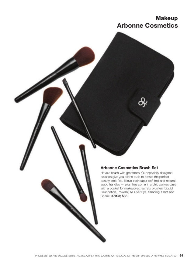 Arbonne Cosmetics Brush Set Have a brush with greatness. Our specially designed brushes give you all the tools to create t...