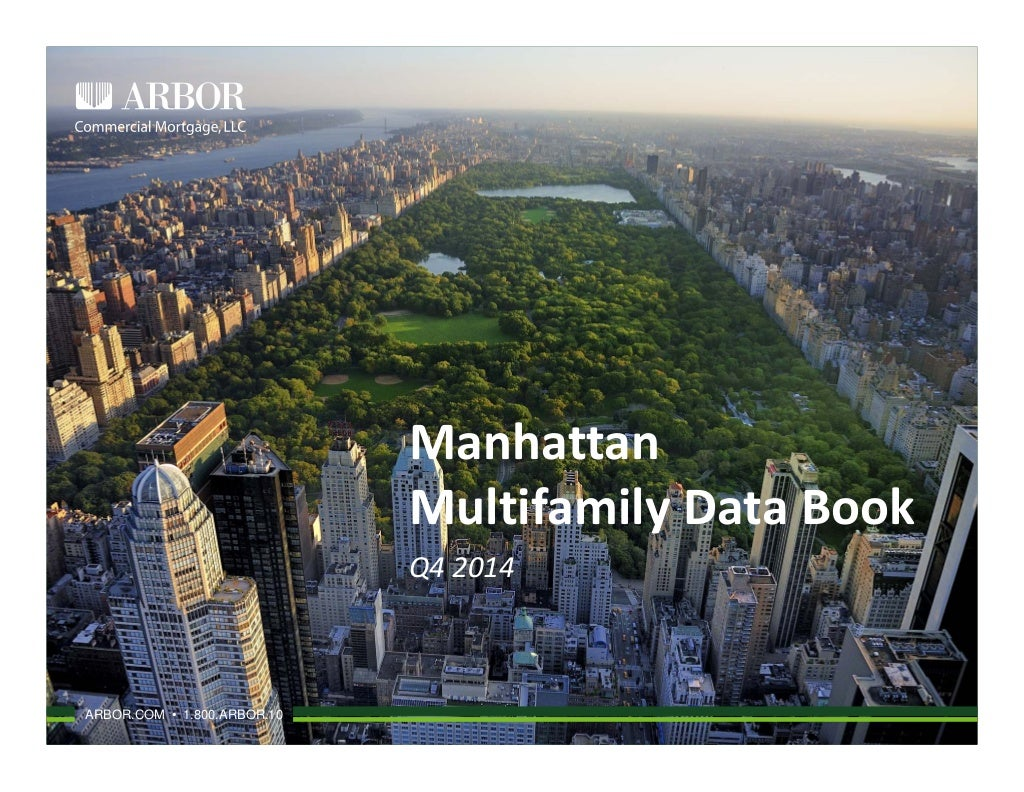 Arbor Manhattan Multifamily Data Book 2014 Q4