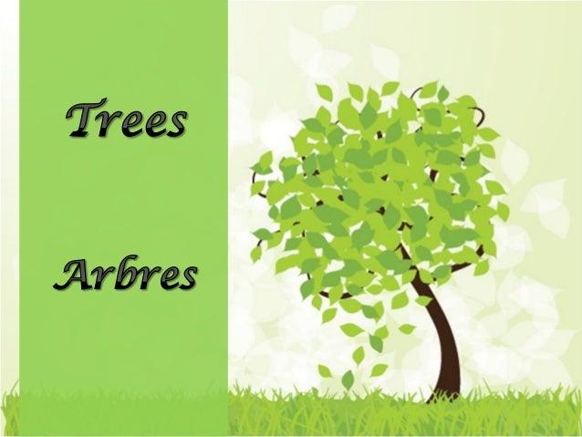 I think that I shall never see A poem lovely as a tree. Je crois que jamais je ne Verrai De poème aussi beau qu'un arbre,