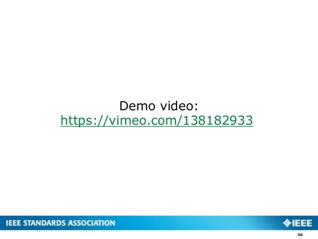 30 Demo video: https://vimeo.com/138182933