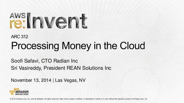 November 13, 2014   Las Vegas, NV  Soofi Safavi, CTO Radian Inc  Sri Vasireddy, President REAN Solutions Inc