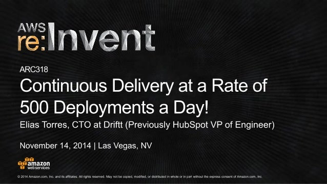 Please give us your feedback on this session.  Complete session evaluations and earn re:Invent swag.  http://bit.ly/awseva...