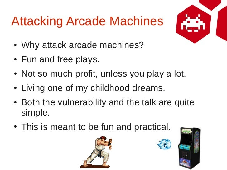 Don't Give Credit: Hacking Arcade Machines