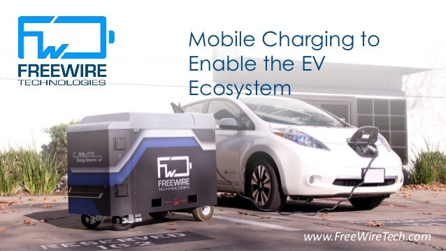 Mobile Charging to Enable the EV Ecosystem 1www.FreeWireTech.com