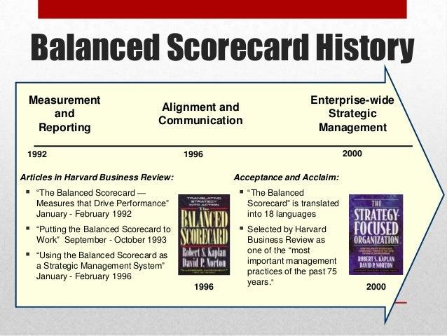 American Red Cross Balanced Scorecard