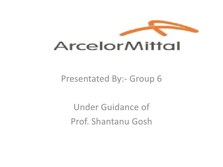 Presentated By:- Group 6<br />Under Guidance of<br />Prof. Shantanu Gosh<br />