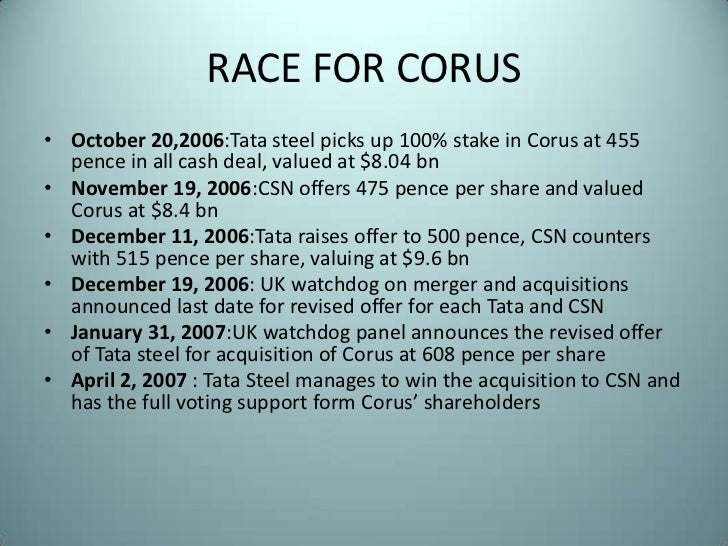 merger of mittal stell and arcelor steel analysis Mergers and acquisitionsa case analysis on arcelor-mittal and tata corus deal • by: vikram dahiya iim-ro mittal steel company nv – ceo lakshmimittal formed by the merger of - lnm holdings & ispat international - international steel group inc headquartered in.