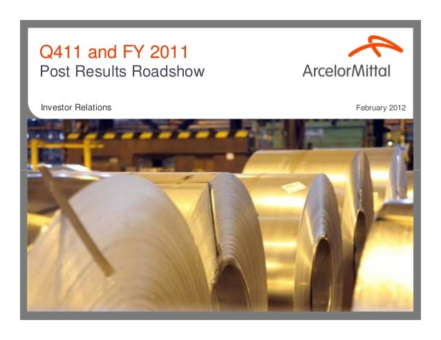 Q411 and FY 2011Post Results RoadshowInvestor Relations      February 2012