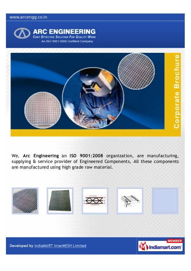 We, Arc Engineering an ISO 9001:2008 organization, are manufacturing,supplying & service provider of Engineered Components...