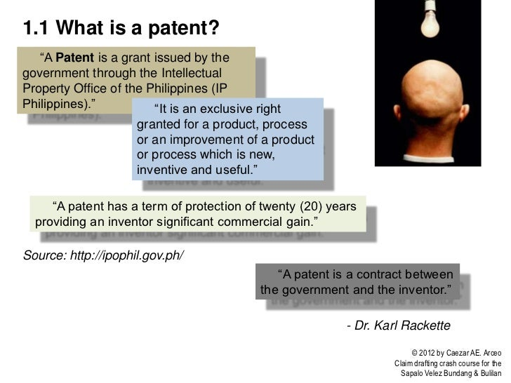 5 11 What Is A Patent