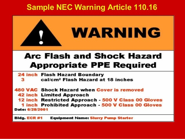 What is Arc Flash? - Your Electrical Training Center