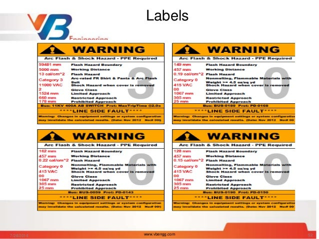 Arc flash analysis and electrical hazards for How to read arc flash labels