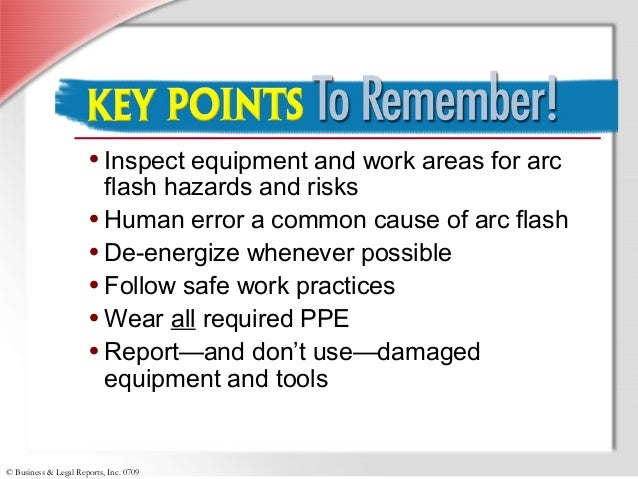 electric arc flash essay The most common cause of arc flash and other electrical accidents is  carelessness no matter how well a person may be trained, distractions,  weariness.