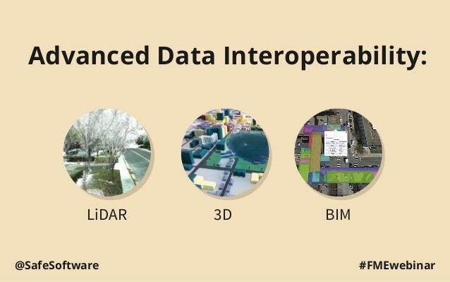 Advanced Data Interoperability: LiDAR 3D BIM #FMEwebinar@SafeSoftware
