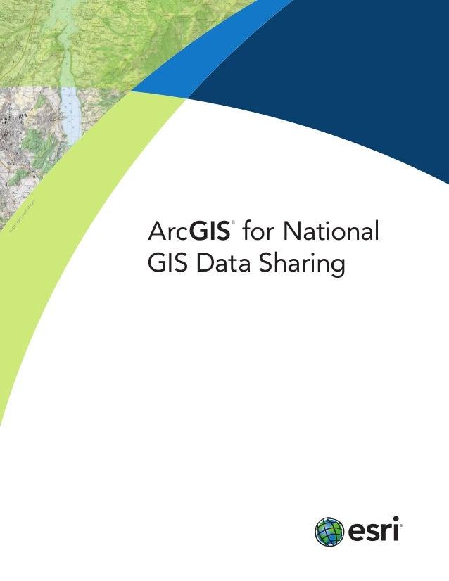 copyrightswisstopo ArcGIS ® for National GIS Data Sharing