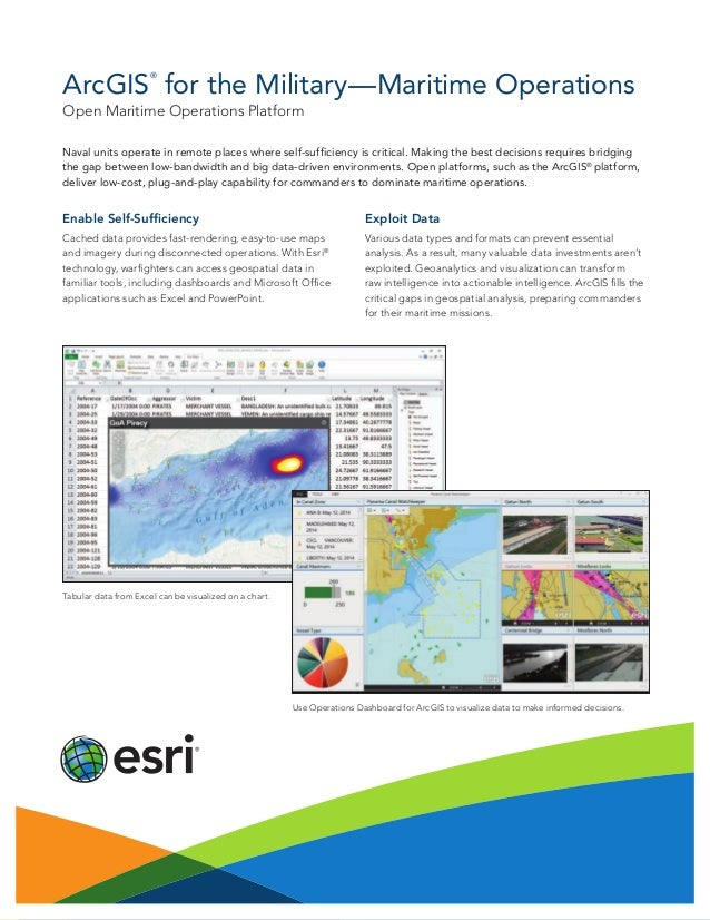 Enable Self-Sufficiency Cached data provides fast-rendering, easy-to-use maps and imagery during disconnected operations. ...