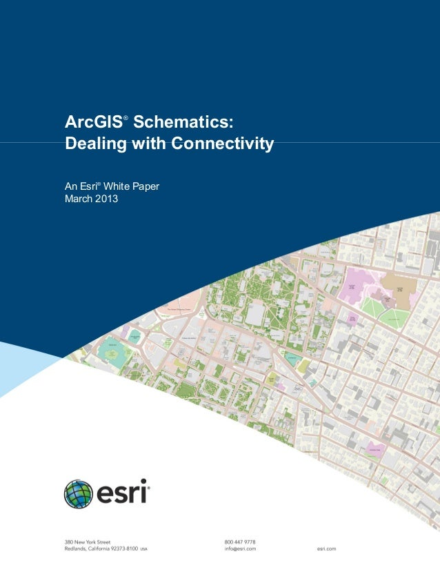 ArcGIS Schematics: Dealing with Connectivity