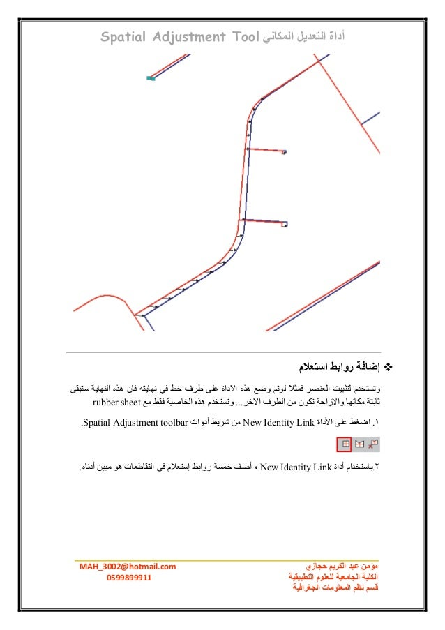 Arc Gis Tutorial Arabic عربي