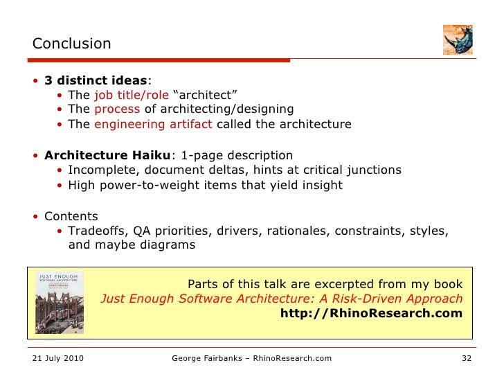 Architecture Haiku