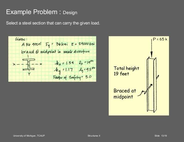 Column analysis and design.