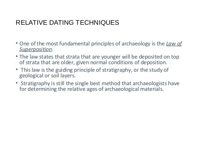 Relative vs absolute dating ppt file