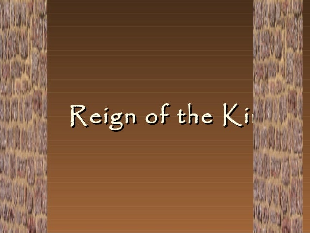 Reign of the Kings