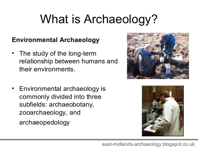 Relationship Between Archaeology And Natural Sciences