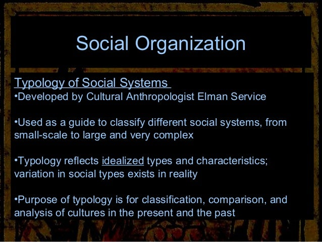Archaeology of social organization